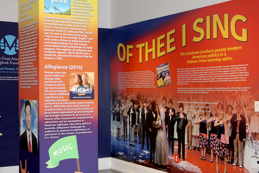 Of Thee I Sing exhibit opens
