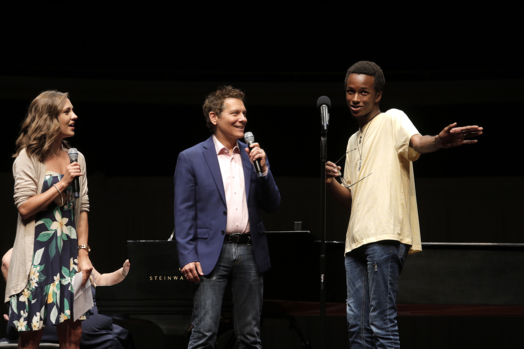 Michael Feinstein teaching Students