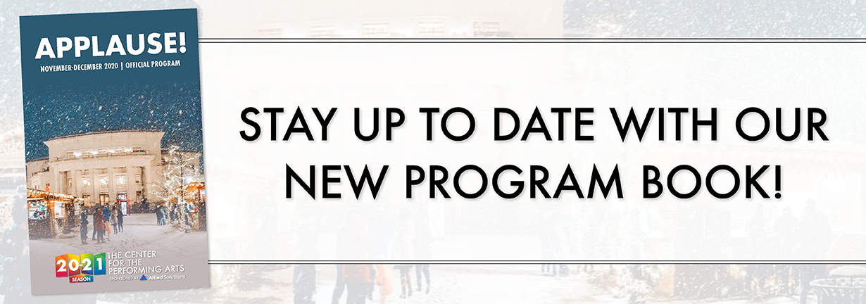 Stay up to date with our new program book!
